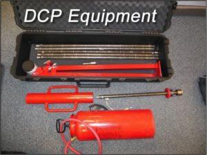 Dynamic Cone Penetrometer (DCP) Testing