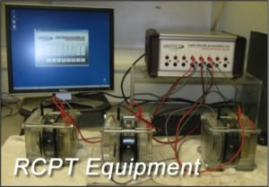 Rapid Chloride Permeability Testing (RCPT)